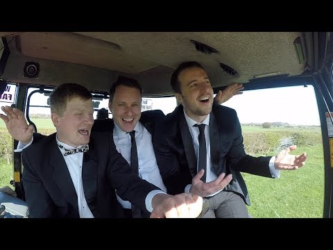 TRACTOR KARAOKE! Farmer Tom meets the Brothers Of Swing!
