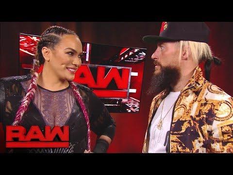 Nia Jax has a surprising encounter with Enzo Amore: Raw, Dec. 4, 2017