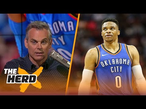 Colin Cowherd thinks tonight's Thunder - Heat matchup is a 'brand defining game' | THE HERD