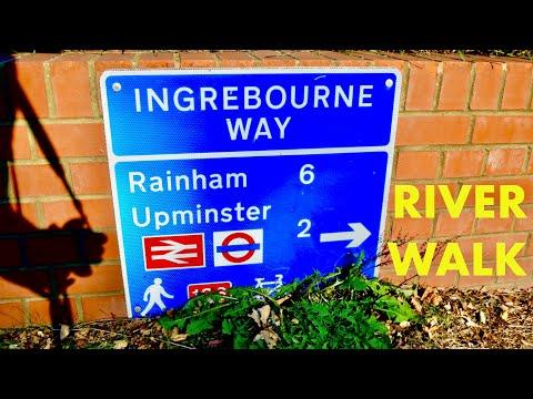 River Ingrebourne Walk - Harold Wood To Rainham | London Loop (4K)
