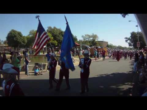 2016 Oklahoma State Fair Marching Band Parade