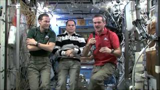 Chris Hadfield on how math is used on the ISS