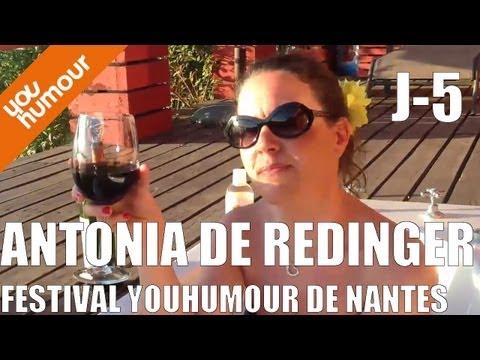 J-5 : Antonia De Rendinger au Festival Youhumour à Nantes !