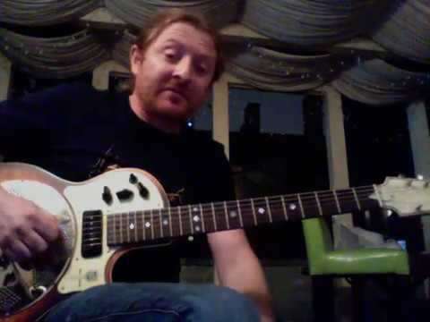 Old Friend Intro Lesson Derek Trucks Lick #1