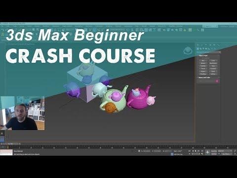 3DS MAX TUTORIAL: Beginner Crash Course