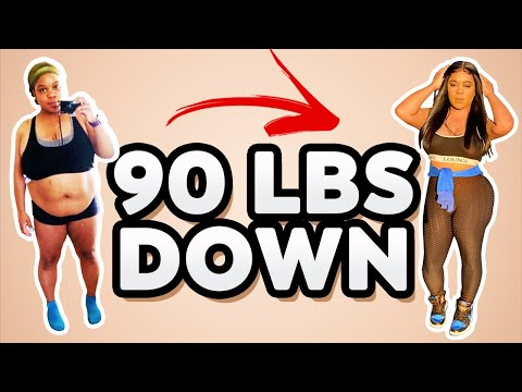 Weight Loss Motivation| Inspirational 90lbs weight loss
