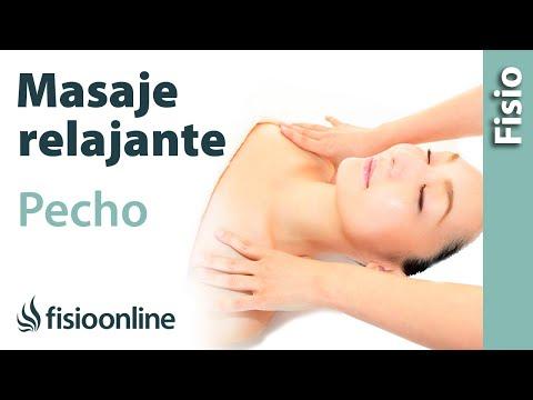Cómo hacer un masaje de pecho y abdomen para relajar y liberar la respiracion