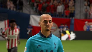 FIFA 20 | PSV (alt.) - Tottenham Hotspur (alt.) ('REAL FACES') ('No Rules' ) (NL comm.)