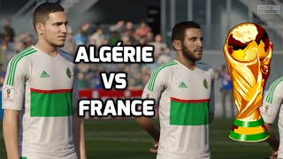[HD] Algérie vs France Coupe du monde #02 Match de Poule Fifa 16 FR 1080p60