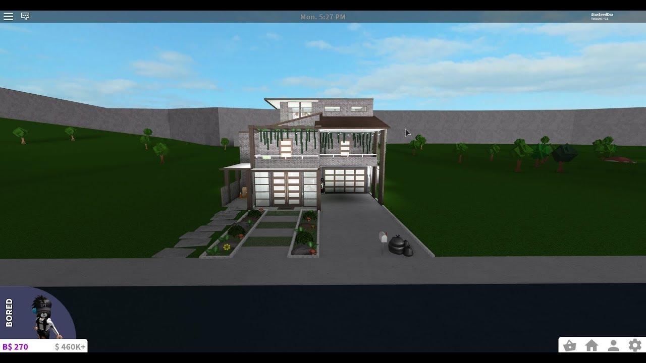 Roblox Bloxburg - 3 Story Modern House + NEW INTRO & OUTRO ...