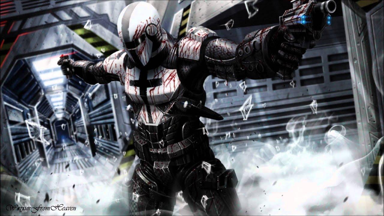 Women Warrior Artwork Sword Rain Cyberpunk Cyberpunk: ProofSound- Corruptor (2012 Epic Action Intense Hybrid