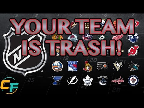 CHIRPING YOUR FAVORITE NHL TEAM!