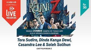 LIVE NGASKUS [Episode 30]: Soleh Solihun, Dinda Kanya Dewi, Cassandra Lee (Film Reuni Z)
