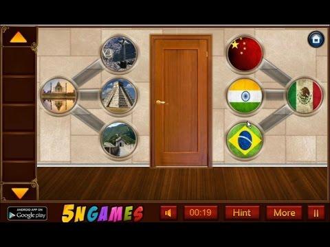 Escape Game 10 Doors walkthrough 5NGames. & Escape Game 10 Doors walkthrough 5NGames. - YouTube