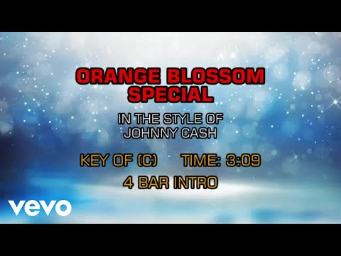 Johnny Cash - Orange Blossom Special (Karaoke)