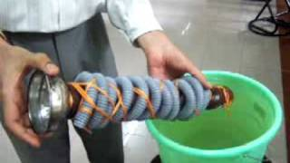 Make Archimedes Spiral Screw Water Lifting Device  High School Physics Project Ravish Simple Machine