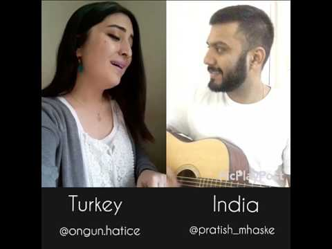 Tamally Maak & Kaho Na Kaho Mashup|| Pratish Mhaske Covers Ft Hatice Ongun