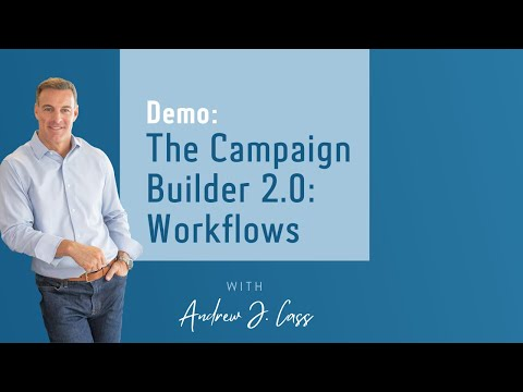 Demo: The Campaign Builder 2.0: Workflows