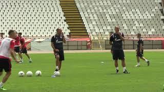 Prvi trening Crvene zvezde u sezoni 2021/22