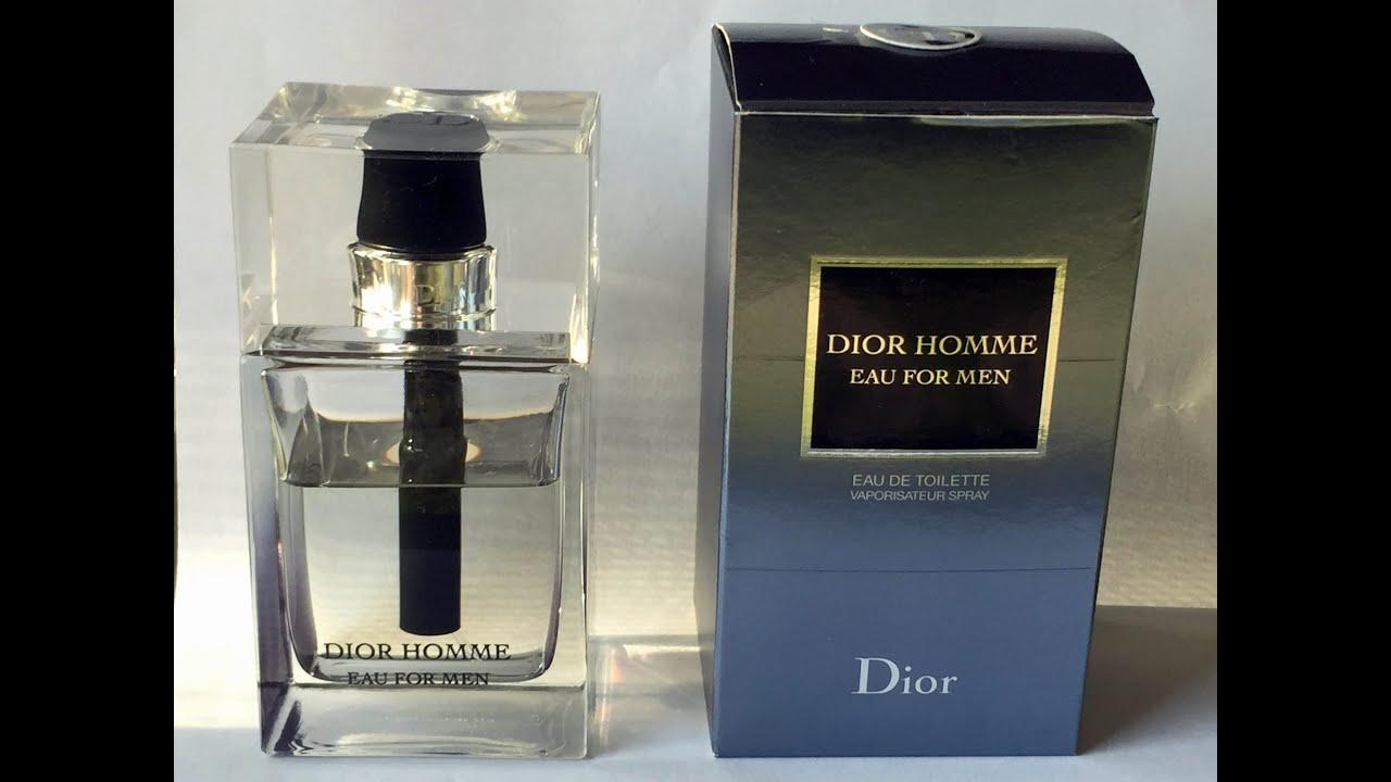 DIOR PART 3 Dior Homme Eau for Men YouTube