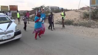 Somaliland girls race for the joy of running as part of FeedingSomalia.org and Mini Mermaids