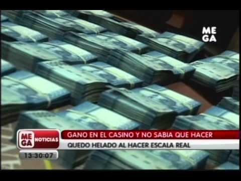 Joven ganó 30 millones en Casino MEGA