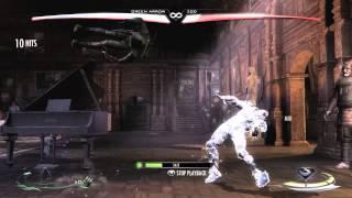 Injustice - Green Arrow 100% Combo! (GOD MODE)