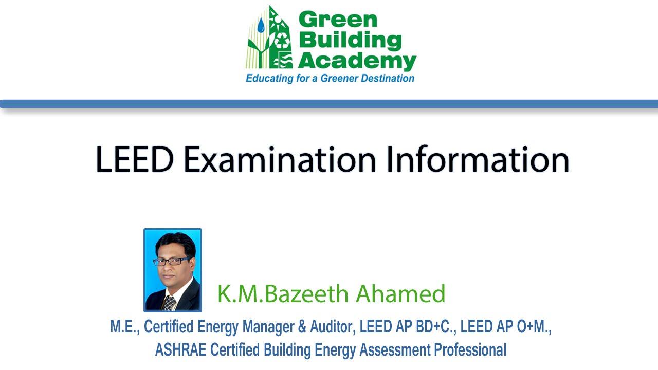 Leed professional exams leadership in energy and environmental leed professional exams leadership in energy and environmental design examination information xflitez Gallery