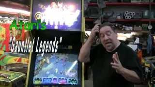 #331 Atari GAUNTLET LEGENDS Arcade Video Game - 1998 4 Player  Modern TNT Amusements