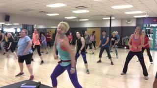 Dance fitness choreography