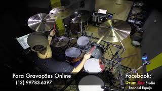 Baixar Gravação de bateria online Drum rec / musica: Maravilhosa graça