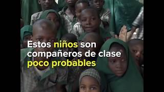 La escuela fundada por el Ganador del Premio Nanses construye paz y esperanza