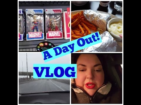 DAY OUT VLOG WITH GRAMS/EB GAMES, LUNCH AND MORE
