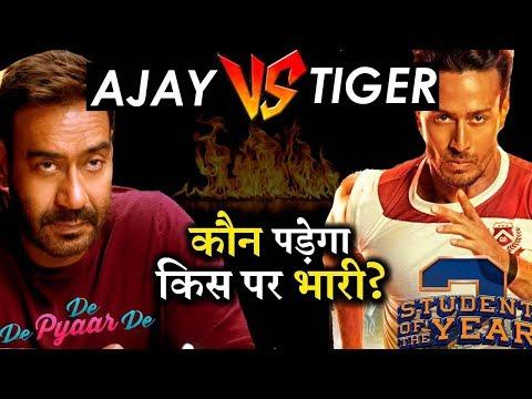 Who Will Win Box Office Race? Ajay Devgn's DE DE PYAAR DE Or Tiger Shroff's SOTY2! Mp3