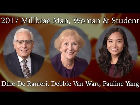 Millbrae Man, Woman & Student of the Year 2017