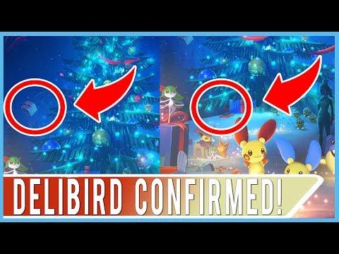 delibird confirmed in pokemon go new title screen artwork shows