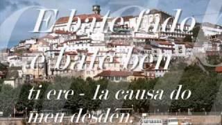 Abril en Portugal  / Sacristán de Coimbra - Xoán Eiriz
