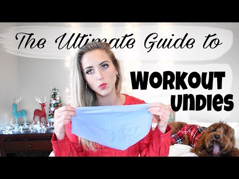 Best Workout Underwear // NO MORE Panty Lines