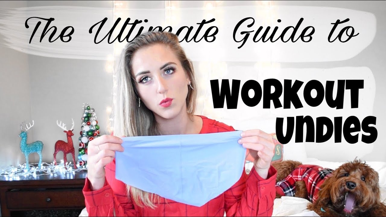 5f536c297f9d3 Best Workout Underwear // NO MORE Panty Lines - YouTube