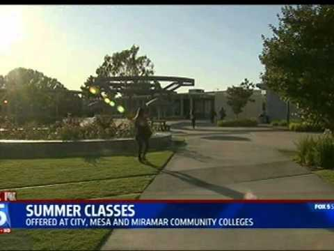 FOX5 News - San Diego Community College District Offering Summer Classes