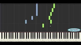 Belajar Piano - Lagu Cinta Untuk Mama Tutorial(Lagu Anak)