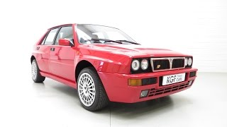 A Phenomenal and Dynamic UK Lancia Delta Integrale Evolution 2 with 25,112 Miles from New - SOLD!