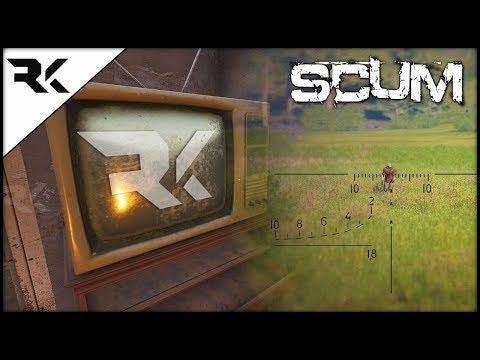 SCUM - Raykit's On TV! Tune In!