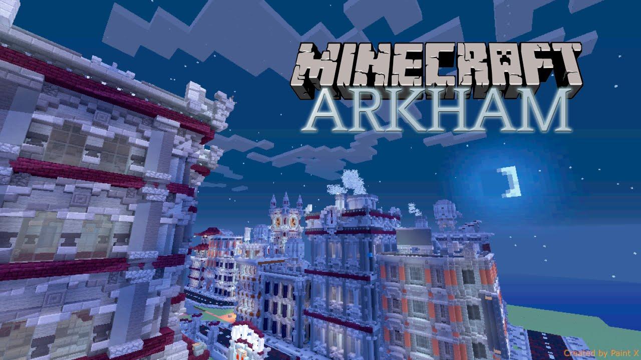 "Building Gotham #5 -Minecraft Gotham City- ""GCPD + New ..."