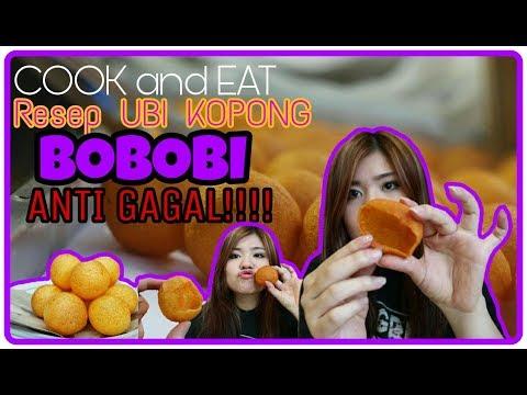 RESEP BOBOBI(BOLA BOLA UBI)KOPONG ANTI GAGAL!!!