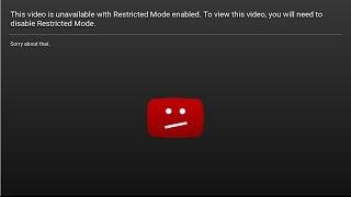 حل مشكلة عدم تشغيل الفيديوهات على اليوتيوب - This video is unavailable