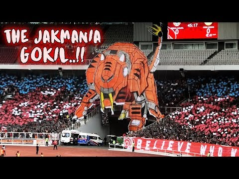 GOKIL! Koreo The Jakmania Persija Vs Ceres Negros AFC Cup 2019 Live GBK