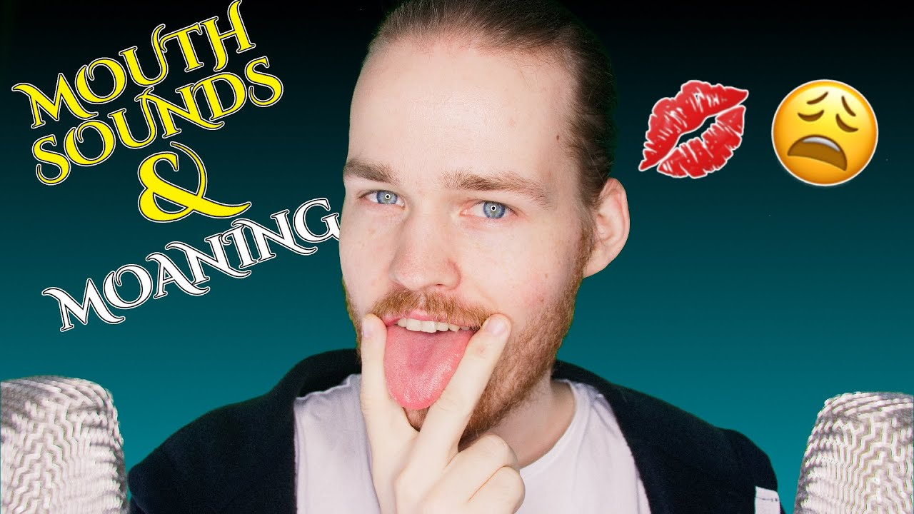 ASMR WET MOUTH SOUNDS & Moaning For The Ladies (Ear To Ear Mouth Sounds & Whispering)