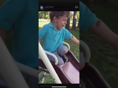 Kid Gets Scared By Frog On Arm (Hilarious!)