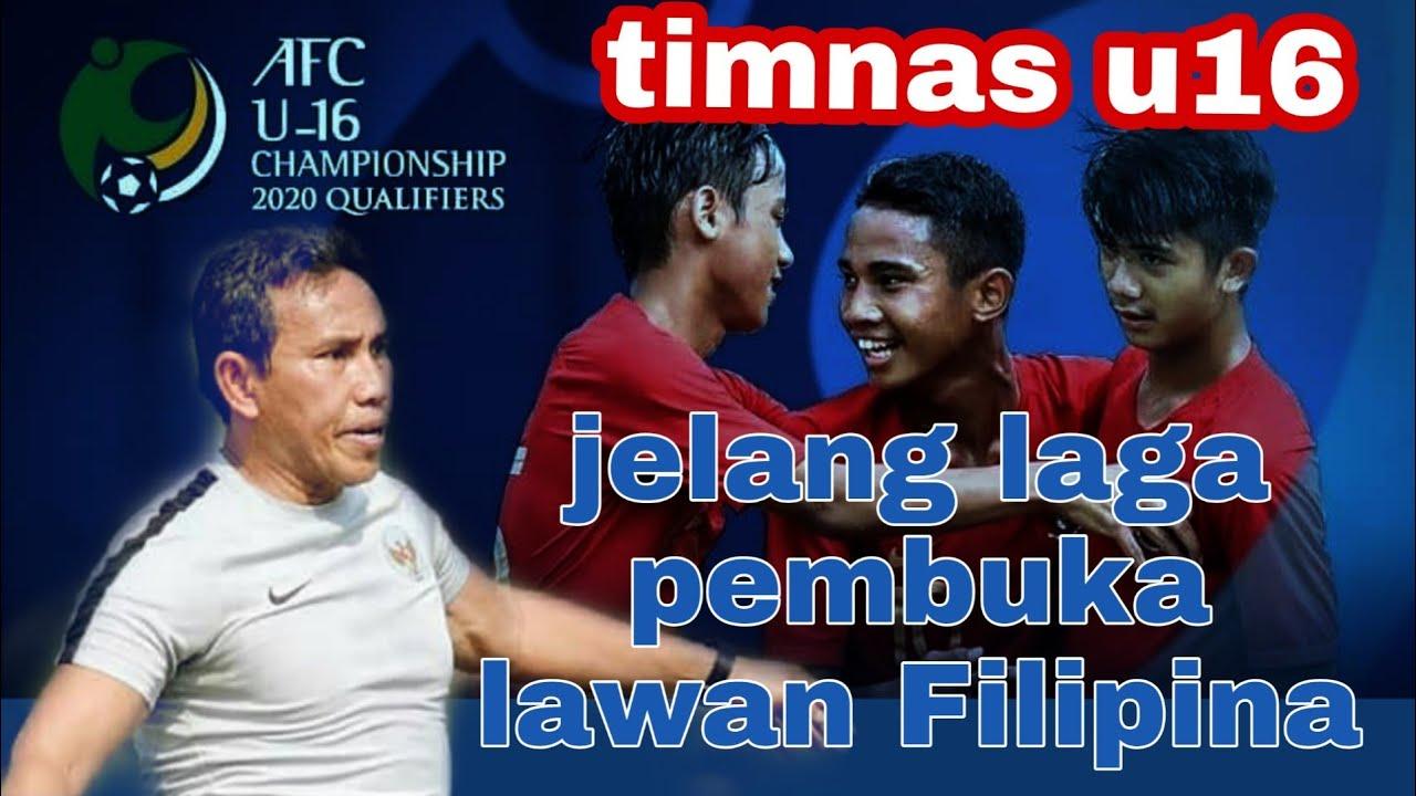 """INDONESIA VS FILIPINA U-16 """"menjelang laga"""""""